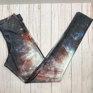 Blackmilk Galaxy Black Leggings Small